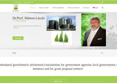 Weboldal készítés martonbiotec.com részére